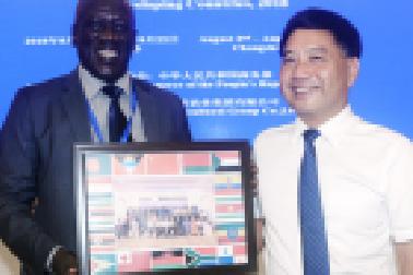 【一带一路五周年】50名国际学员在湖南获万博官网手机登录网页培训证书